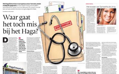 Het AD: 'HagaZiekenhuis opnieuw de fout in met patiëntgegevens'