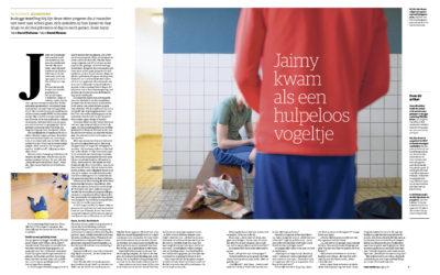 NRC: 'Als een hulpeloos vogeltje stond Jaimy bij jeugdzorg voor de deur'